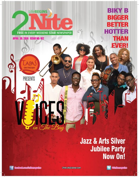 2Nite Magazine for Saturday April 30th, 2016 ~ Issue no. 182