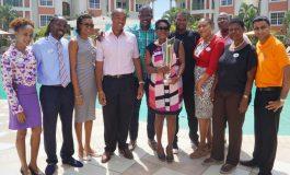 Bay Gardens Resorts Rewards Darren Sammy And Johnson Charles