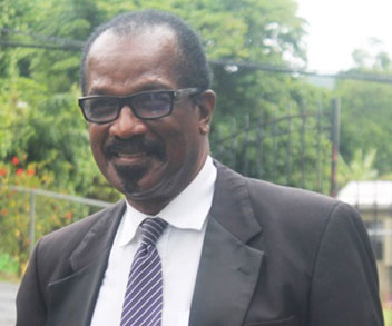 Saint Lucian Velon John is a former politician and magistrate.