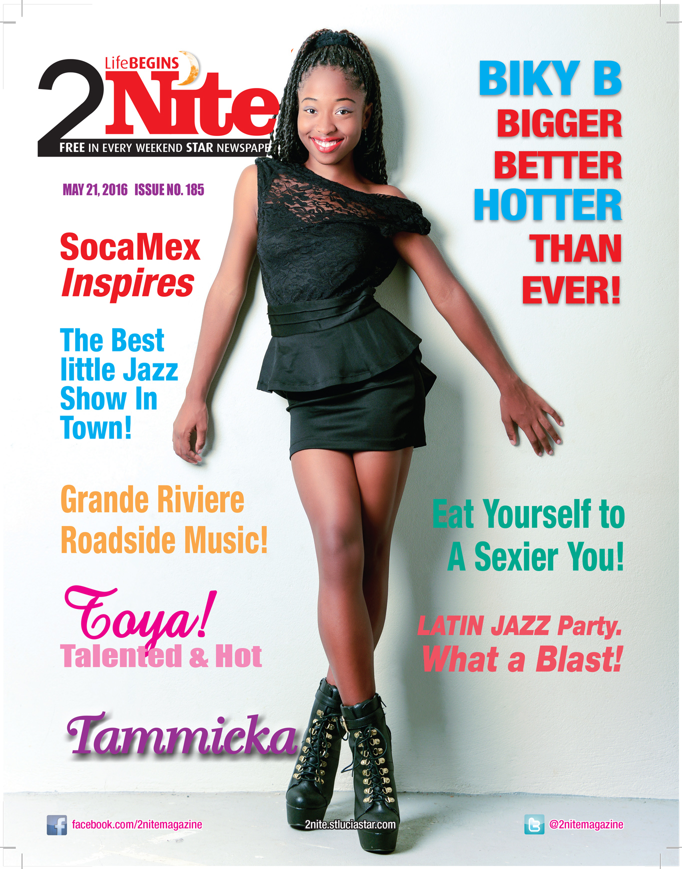 2Nite Magazine for Saturday May 21st, 2016 - Issue no. 183