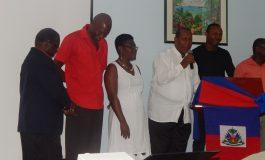L'Asosyasyon Sent-Lisi Ayiti celebrates  Haitian Flag Day