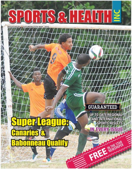 Sports & Health Magazine Inc. for Saturday April 7th, 2016 ~ Issue no. 91