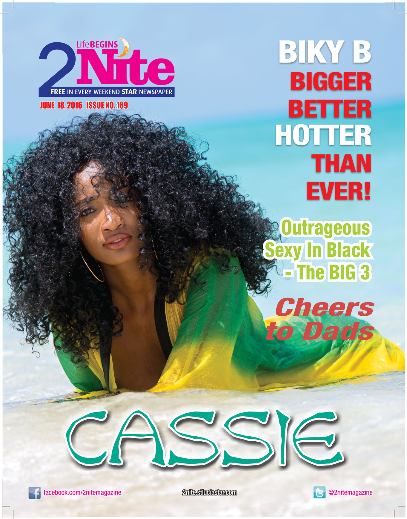 2Nite Magazine for Saturday June 18th, 2016 ~ Issue no. 189
