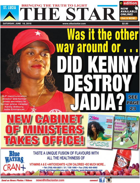 The STAR Newspaper for Saturday June 18th, 2016
