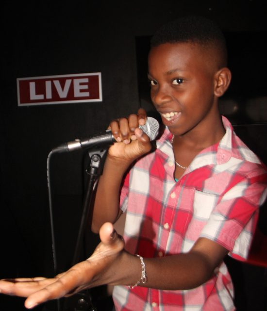History in the making: Mighty Sizzler is the youngest Calypsonian to make it to the national competition.