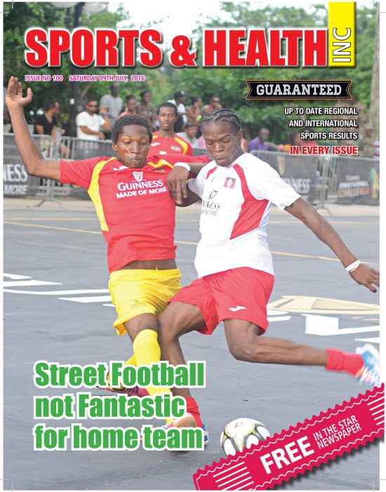 Sports & Health Magazine Inc. for Saturday July 9th, 2016 ~ Issue no. 100