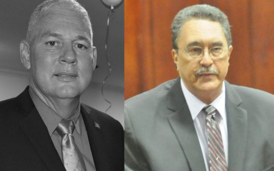 Allen Chastanet (left) has two growling tigers by the tail: IMPACS and Grynberg, both hatched under the watch of his predecessor Kenny Anthony. The burning question on concerned minds at home and abroad— the U.S. State Department and the EU included—centers on whether the new prime minister will go where Anthony feared to tread!