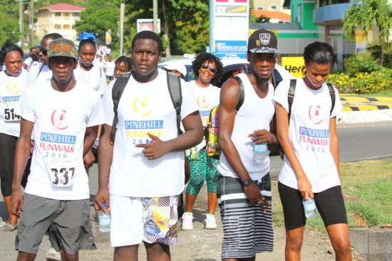 Thousands take PineHill Walk!