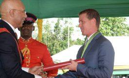 Sandals' Adam Stewart Receives Tourism Award