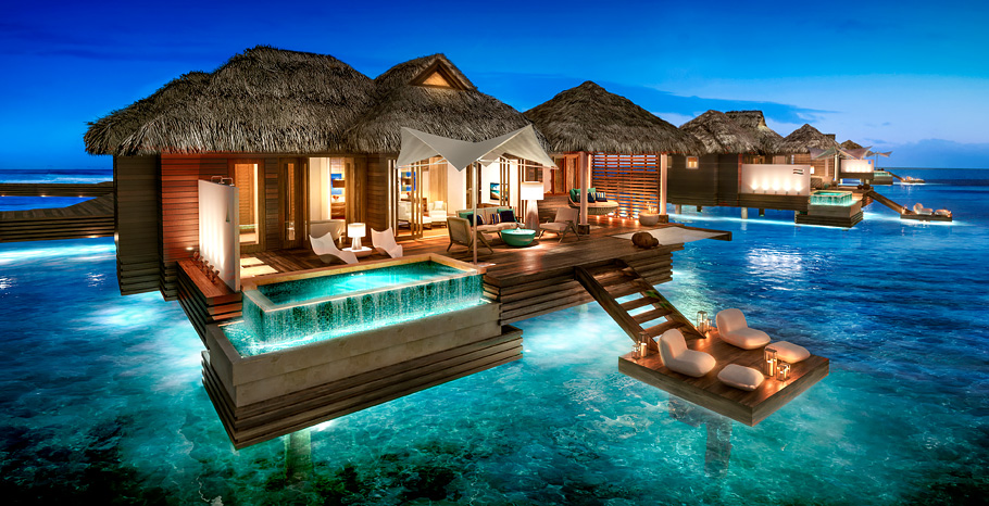 Sandals Resorts Announces New Overwater Bungalows In St
