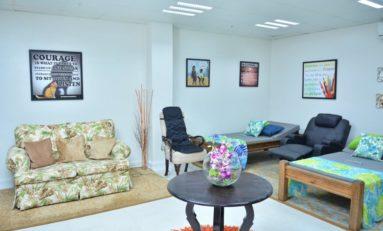 Rejuvenation Lounge for Sandals Grande Spa & Beach Resort Employees