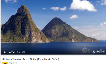 Saint Lucia Featured in Expedia Travel Guide Video