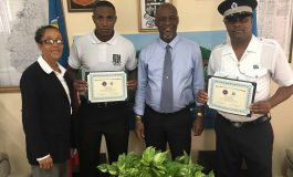 POLICE OFFICERS RETURN FROM HIGH LEVEL TRAINING