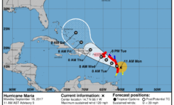 Hurricane Maria escalates to Category 3 Hurricane