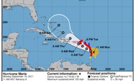 Hurricane Maria escalates to Category 3 Hurricane