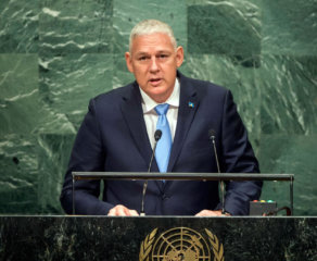 Chastanet Addresses UNGA  for St. Lucia and OECS