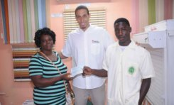 Caribbean Awnings presents Lawson Calderon Scholarships