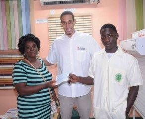 Caribbean Awnings presents Lawson Calderon Scholarships