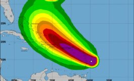 HURRICANE WARNING IS IN EFFECT FOR SAINT LUCIA