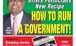 The STAR Newspaper For Saturday September 9, 2017