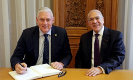 OECD Head meets with Prime Minister Allen Chastanet