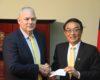 TAIWANESE AMBASSADOR SEEKS SAINT LUCIA'S SUPPORT