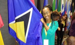 St. Lucian Returns Home From YLAI 2017