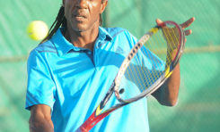 National Independence Tennis Tournament underway