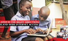 A Step in the Right Direction: Island-wide Internet Access