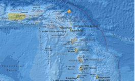 SEISMIC ACTIVITY IN THE LEEWARD ISLANDS