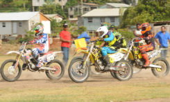 Motocross was a monster clash in Vieux Fort