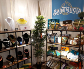 Saint Lucian Presence at Mode Accessories Show