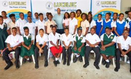 29 children of Lucelec employees get scholarship from company