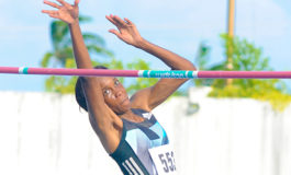Levern Spencer places third at Continental Cup