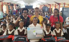 Hundreds of children across Saint Lucia benefit from Digicel's back to school campaign