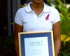 St. Lucian receives Commonwealth Point of Light Award
