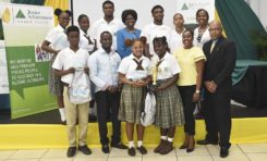 """Babonneau Secondary wins """"Company of the Year"""" Title for 2 Consecutive Years"""