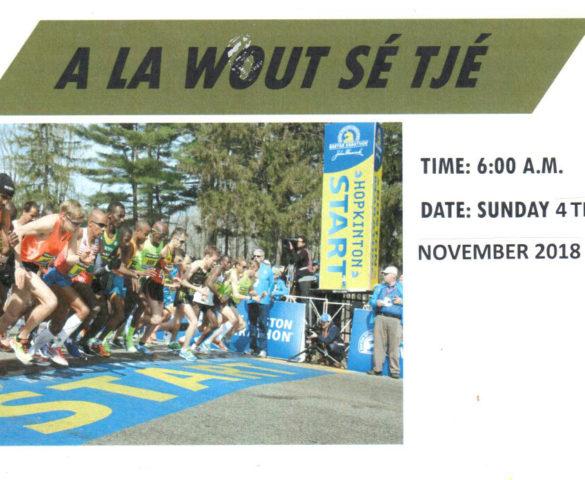 "The ""A La wout se' Tje"" Walk"