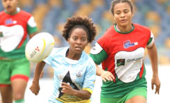 National Female team third in Rugby 7's