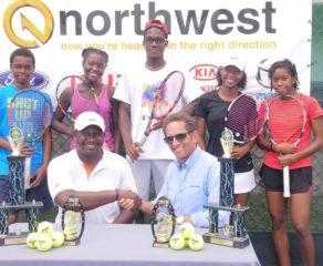 Northwest Tennis Tournament underway