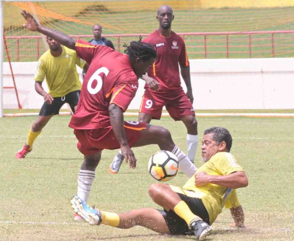Pele Masters lived up to their name in Veterans Football Invitational